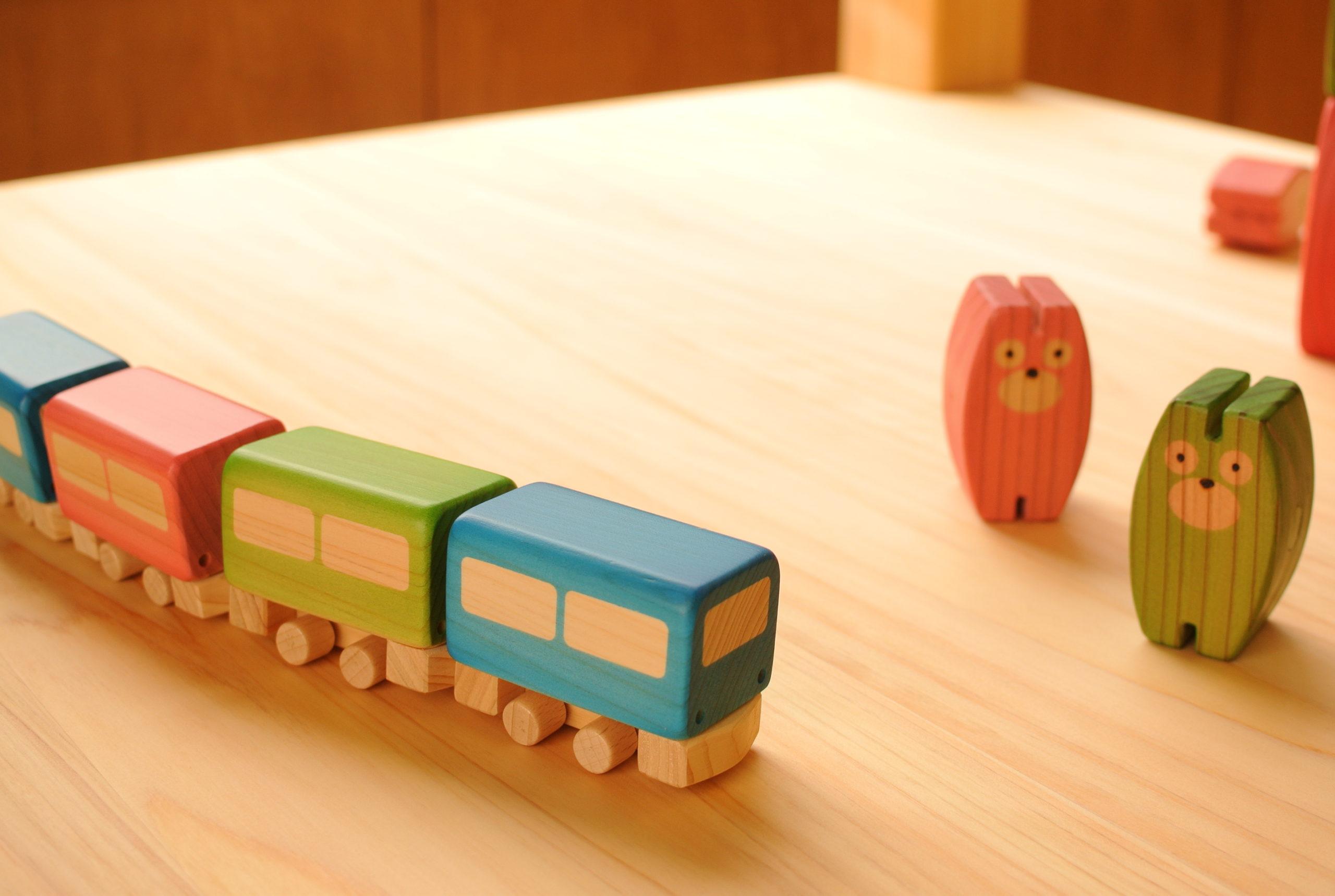 日本の木のおもちゃ