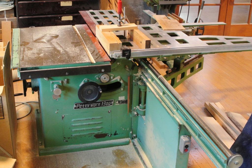 いきいき館の木工機械